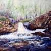 Waterfall At Mill Creek Image